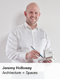 Jeremy Holloway, Architecture + Spaces