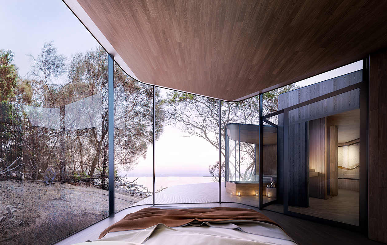 Liminal Architecture Freycinet Lodge Renewal Pod Feature