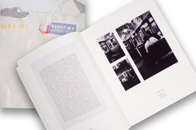 Publicity_Liminal Graphics, Transit Narrative Exhibition Catalogue, feature