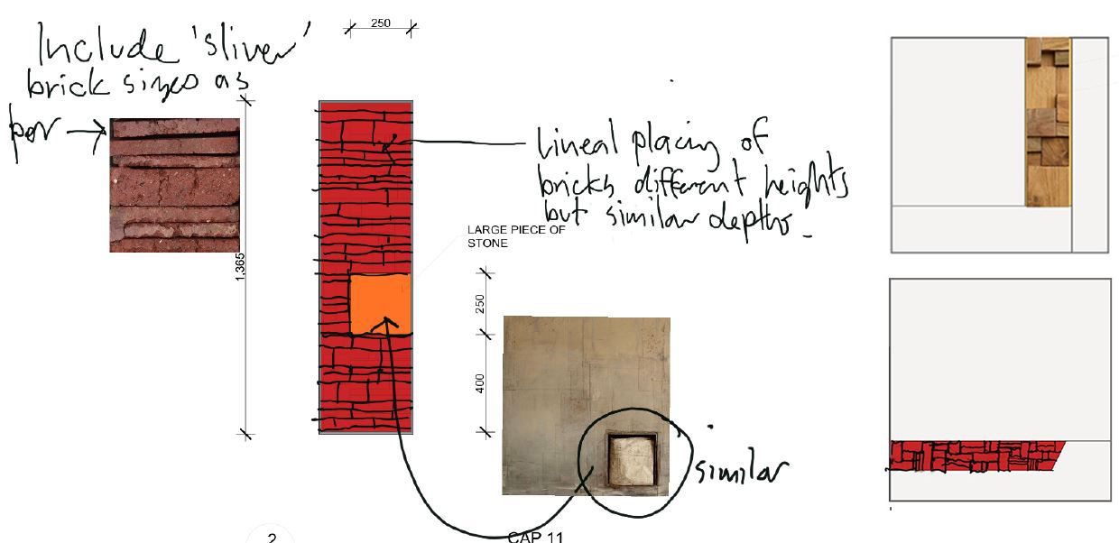 Liminal Objects The Hedberg archaeological inserts concept development sketches 04