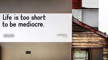 Liminal Architecture Apply Now Ad