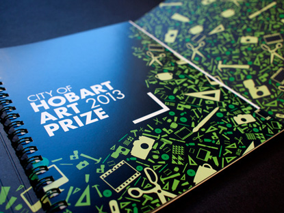 NEWS- Liminal Graphics, City of Hobart Art Prize 2013, Thumbnail Catalogue Inside cover