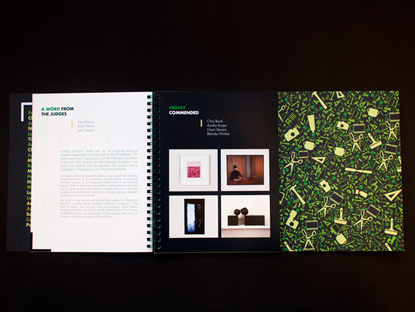 NEWS- Liminal Graphics, City of Hobart Art Prize 2013, Thumbnail Catalogue catalogue spread