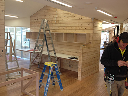News item - Liminal Architecture Geeveston Child and Family Centre nearing completion