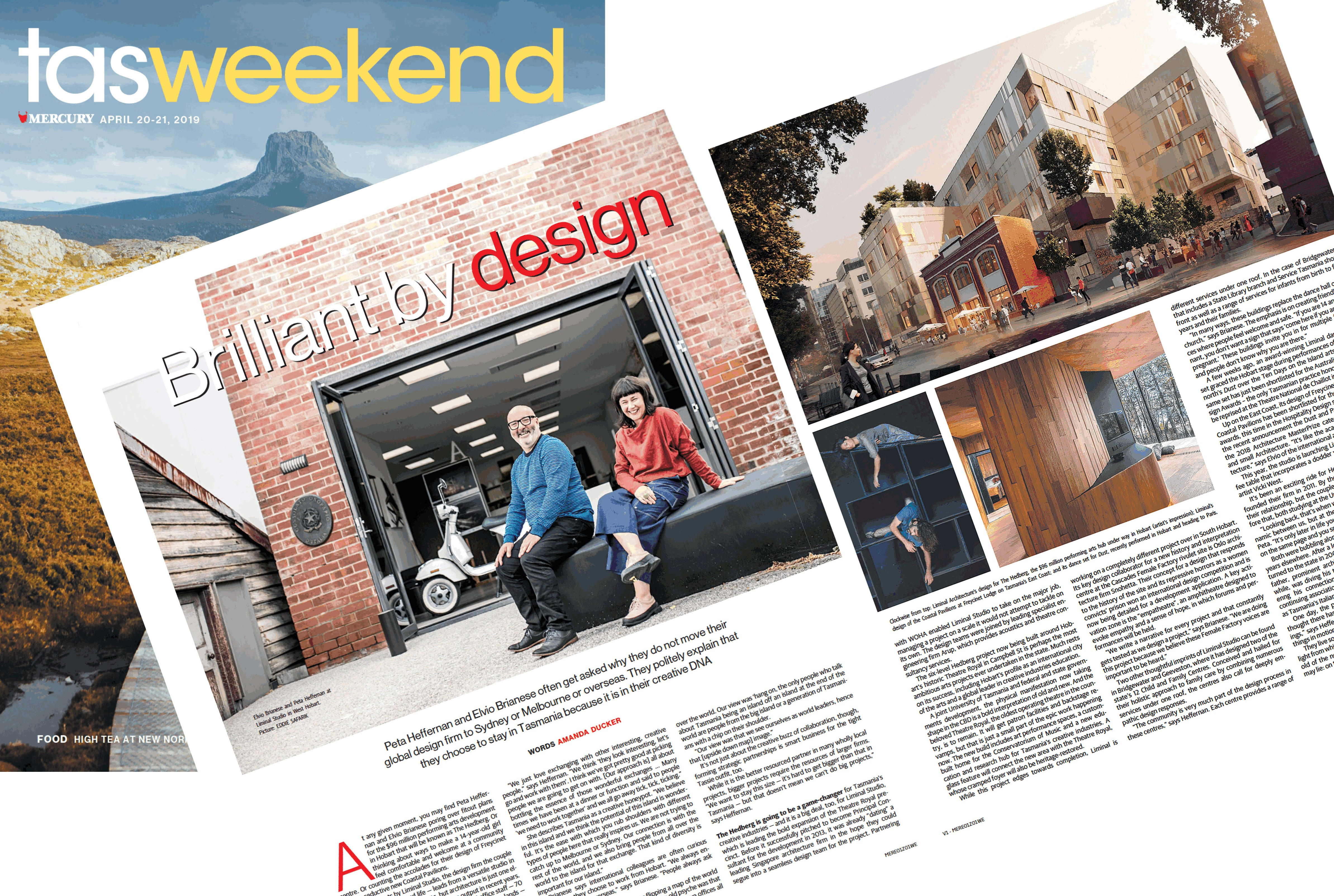 Liminal Studio TasWeekend Feature The Mercury